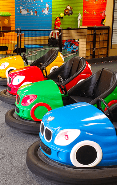 Kids Town Play & Party Bumper Cars