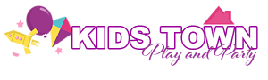 kids town play and party logo 2021
